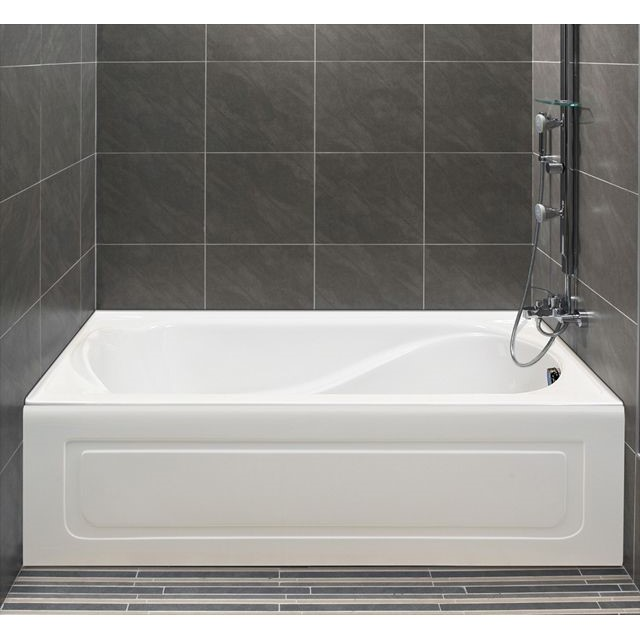 Finest Alcove Petunia Bathtub | Whirlpool, Air or Soaking GJ25