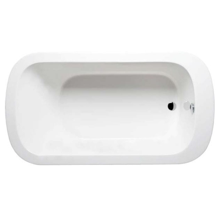 end drain freestanding tub. Abigayle Top View  Oval Bathtub for One Bather Americh Tub Soaking