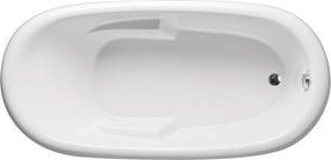 Alesia Oval Tub with Armrests
