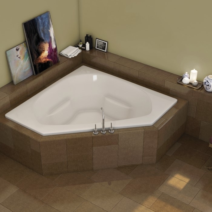 Americh Quantum Corner Tub Qu6060 Whirlpool Air Or Soaking