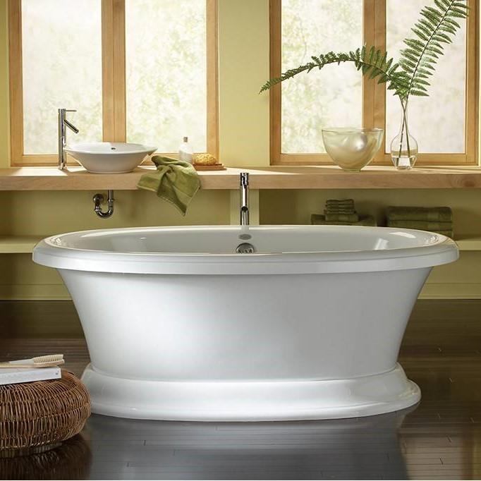 Aquatic Carrington 6638CF | Freestanding Air & Soaking Tub
