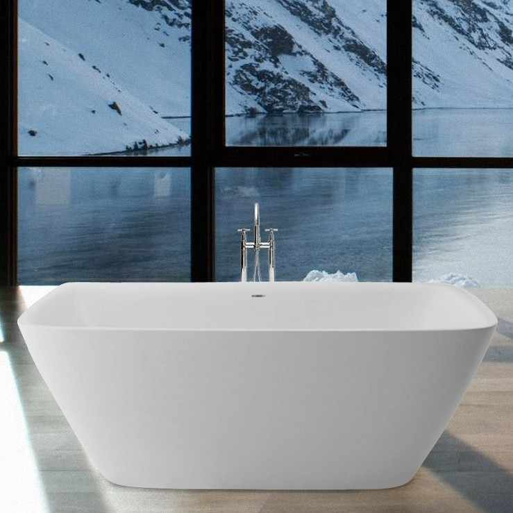 Aquatica Arabella Bath | Freestanding, Corner & Back to Wall