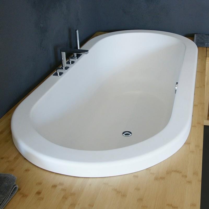 Aquatica Carol Bath | Oval 75 Drop-in Tub