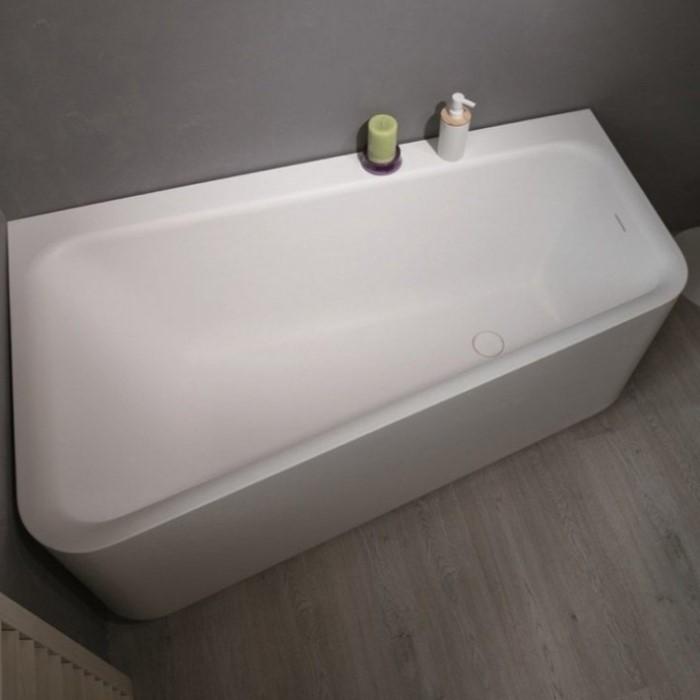 Aquatica Jane Bath Corner Solid Surface Soaking Tub