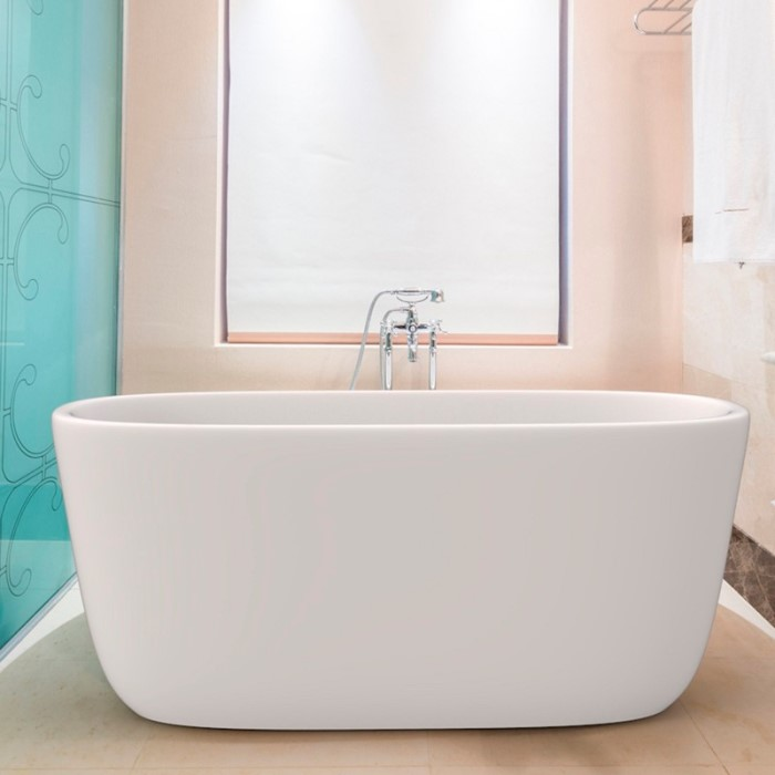 Aquatica Lullaby Mini Solid Surface Freestanding Bathtub