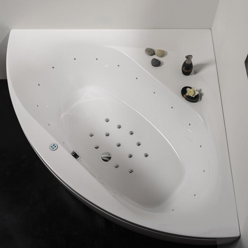 Aquatica Olivia Bath | Corner Skirted Soaking Tub