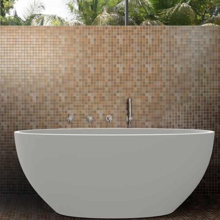 Aquatica Sensuality Mini Solid Surface Freestanding Bathtub