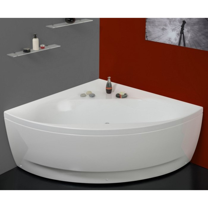 Aquatica Olivia Bath Corner Skirted Soaking Tub