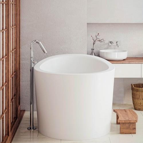 . Aquatica True Ofuro Mini Bath   Japanese Freestanding