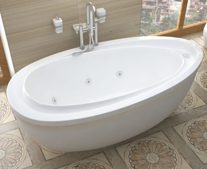atlantis breeze freestanding whirlpool air soaking. Black Bedroom Furniture Sets. Home Design Ideas