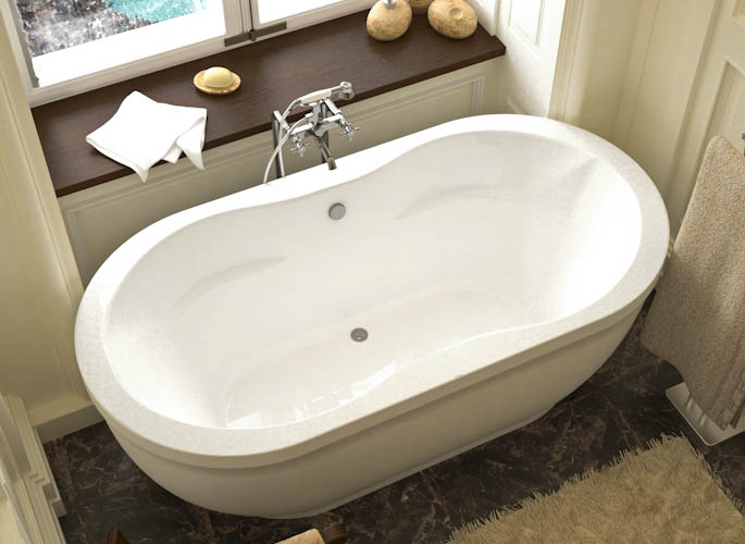 Atlantis Embrace Freestanding Whirlpool Air Amp Soaking
