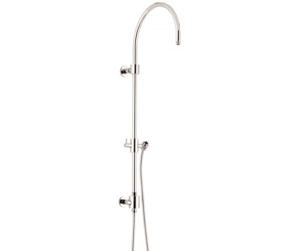Exposed Shower Column with Hand Shower on Slide BAr