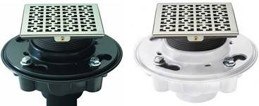 Craftsman Trim and PVC (white) & ABS (black) Drain Body