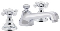 Del Mar Widespread Sink Faucet in Chrome