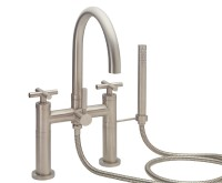 Deck-mount Tub Filler with 65 Series Handle