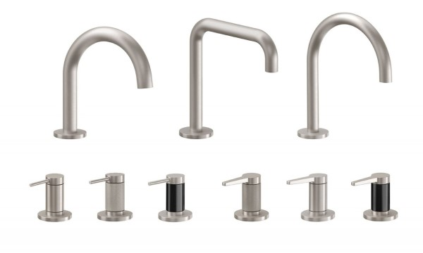 Modern Faucet Series with 3 Spout & 6 Handle Choices