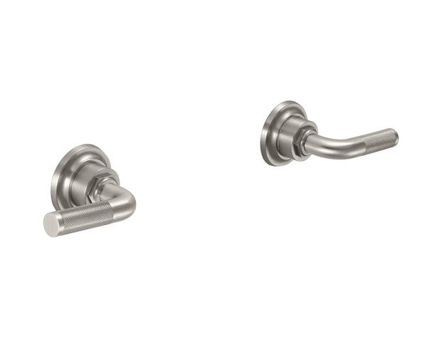 Hot & cold, 2 textured lever handles