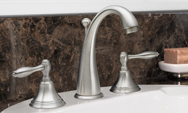 Mendocino Widespread Faucet in Satin Nickel