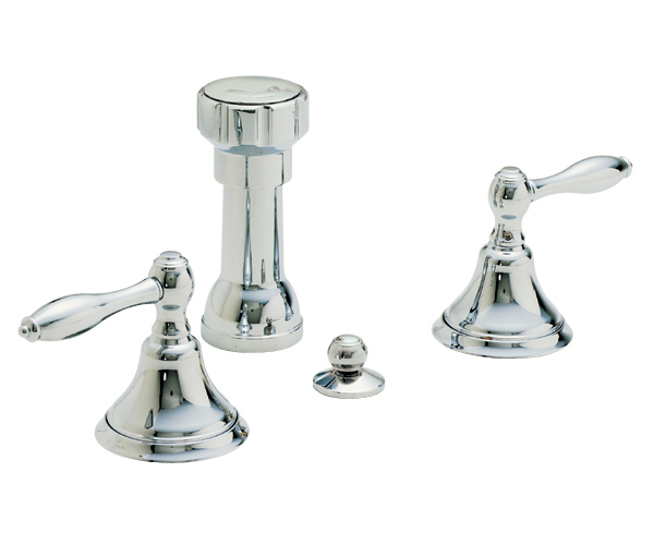 Vertical Bidet with Lever Handles