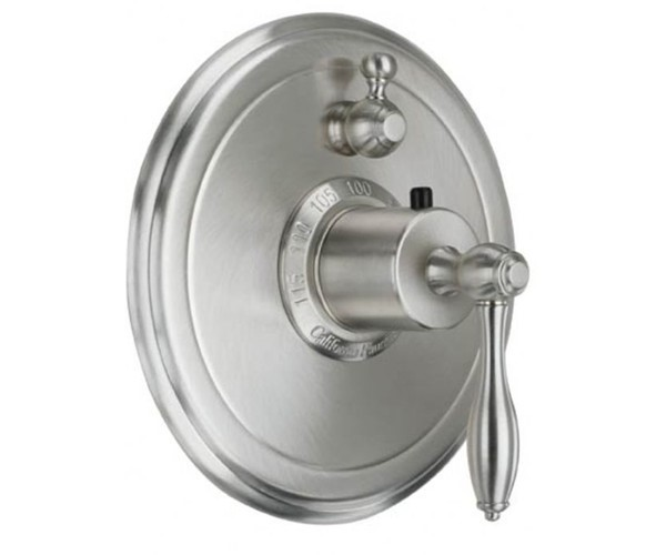 Round Back Plate - Style Therm with 1 Stop