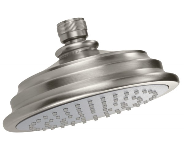 Bell Style Showerhead with Rubber Face