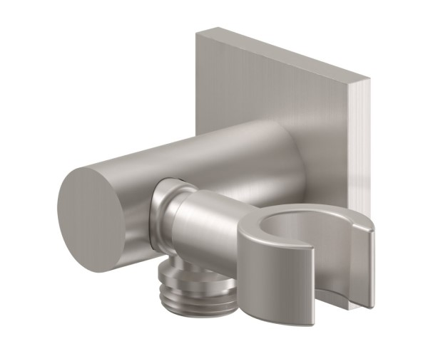 Combination Hook and Supply Elbow, Contemporary Square Design