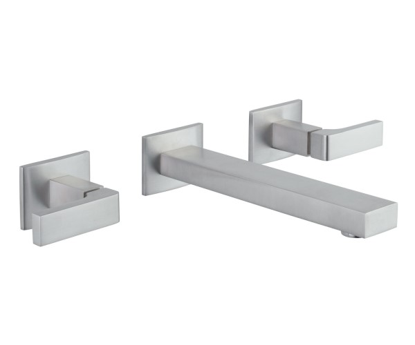 Modern Square Design Wall Mount Sink Faucet