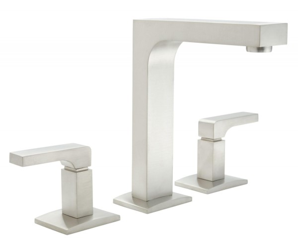Widespread Faucet with Square Design