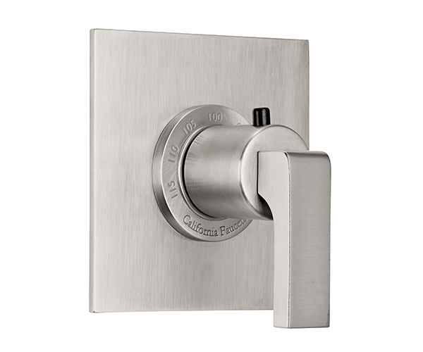 Square, Flat Thermostatic