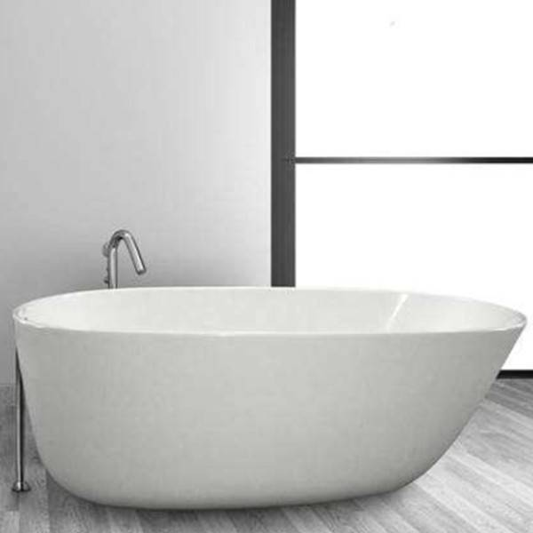 freestanding tub with faucet holes. Oval Soaking Tub  Floor Mount Hydro Systems Daniela Bathtub Freestanding