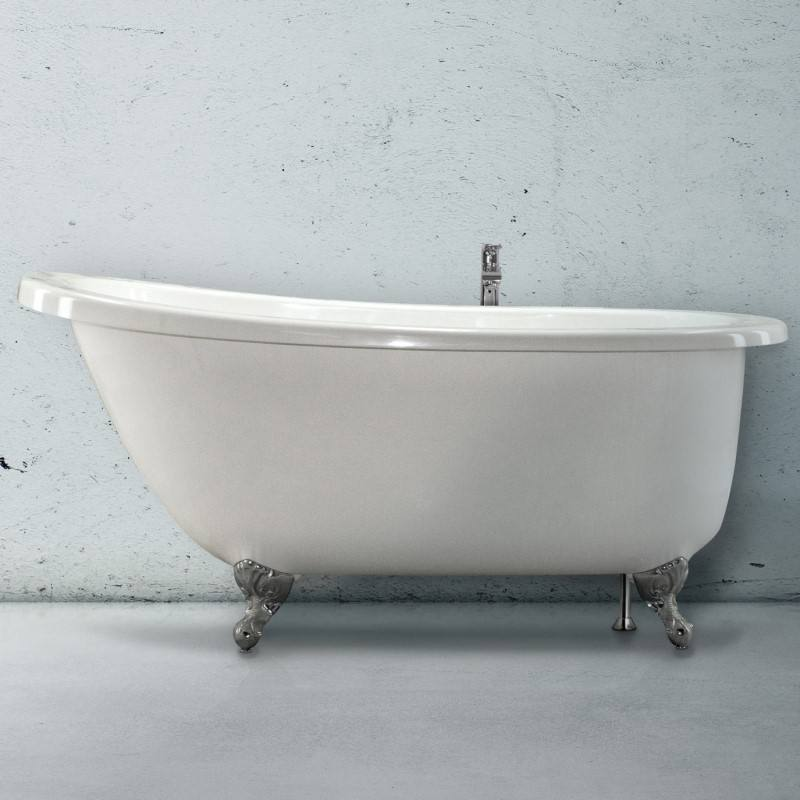 Hydro Systems Annette Bathtub | Annette Claw Foot Soaking Tub