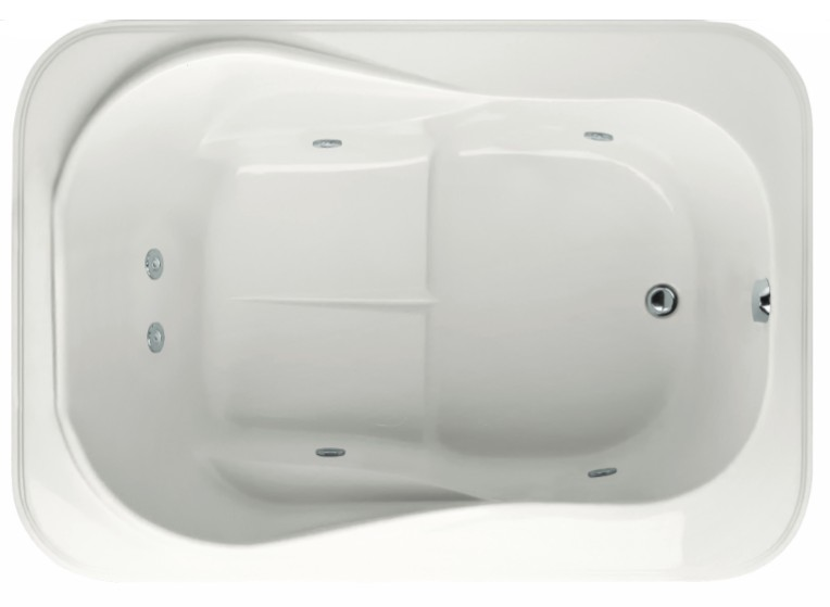 hydro systems cassi bathtub cassi soaking air or. Black Bedroom Furniture Sets. Home Design Ideas