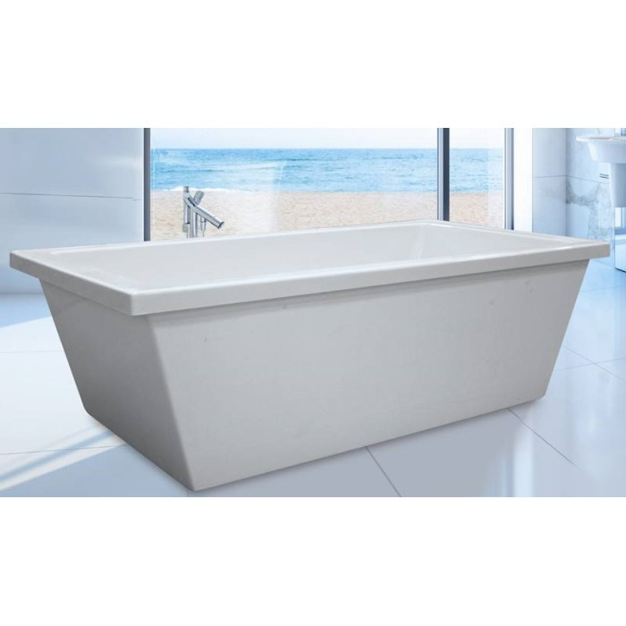 Hydro Systems Cheyenne Bathtub | Freestanding Soaking & Air Tub