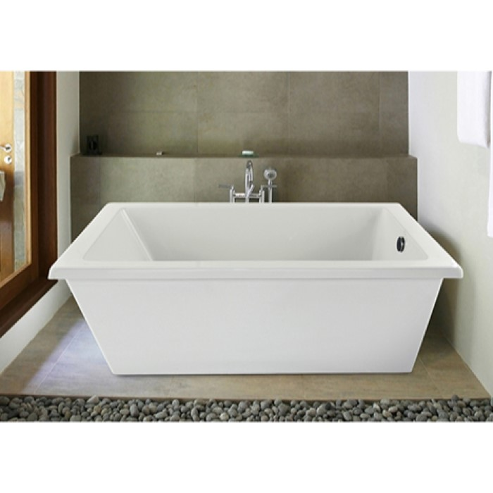 Hydro Systems Lucy Bathtub Lucy Soaking  Air Tub - Rectangular freestanding soaking tub