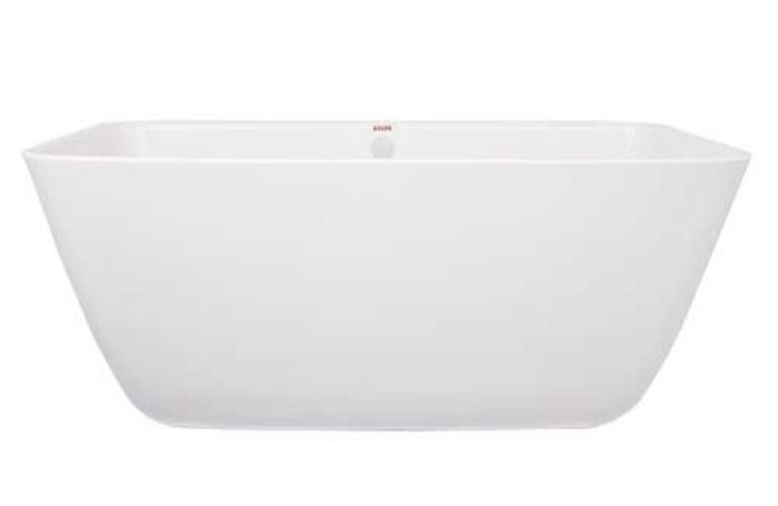 Freestanding Rectangle Bath with Angled Sides