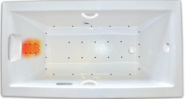 zen 6032 bathtub   soaking, whirlpool or air jets   hydro massage