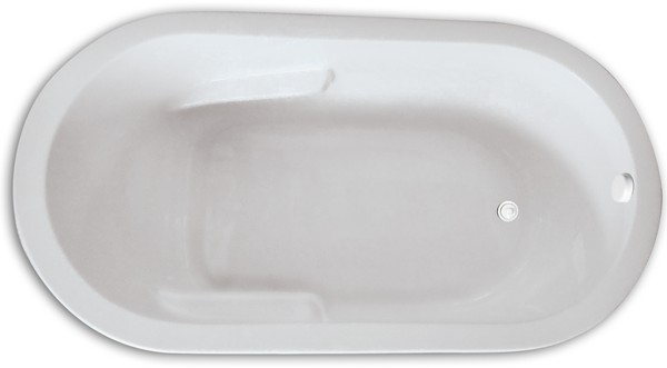 Zen Oval 6636 Tub Soaking Whirlpool Or Air Hydro Massage