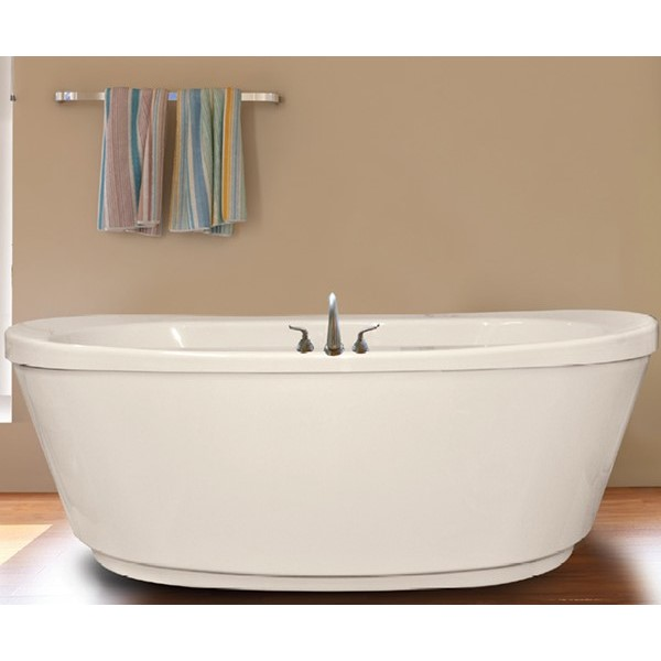 Ovale Soaking Whirlpool Or Air Jets Hydro Massage - Free standing jetted soaking tub