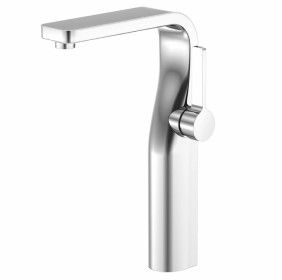 Serie 260 Sleek Contemporary Hole Sink Vessel Faucet