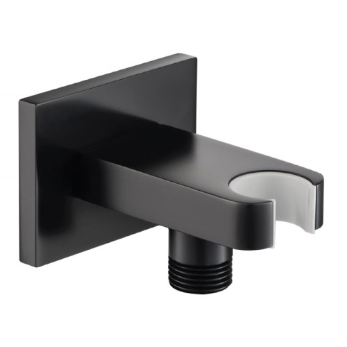 Square Style Wall Elbow with Holder