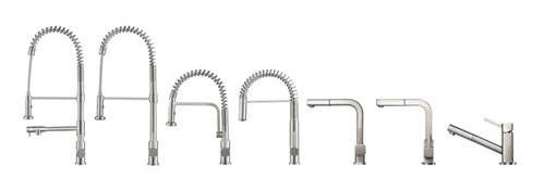 Proffessional and Pull Out Kitchen Faucets