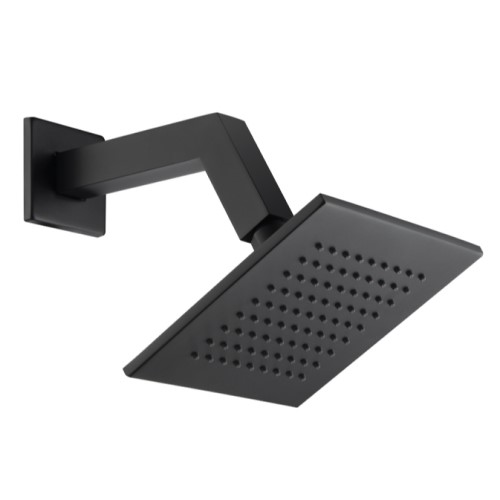 Small Square Shower Head with Square Wall Mount Arm