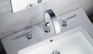 Widespread Sink Faucet with Lever Handles