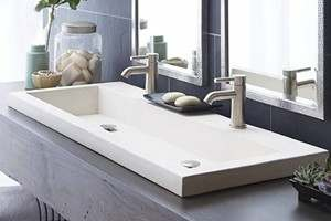Native Trails Cement Double Sink
