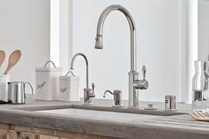 California Faucets Kitchen Faucet Sets