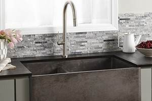 Native Trails Cement Farmhouse Kitchen Sink
