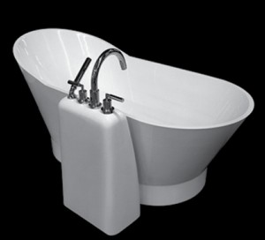 Neptune Wish Stand for Tub Filler