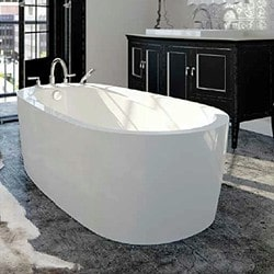 Freestanding Bath with End Drain