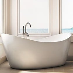 Modern Double Slipper Bath