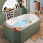 Marguerite Drop-in Bathtub with Raised Backrests